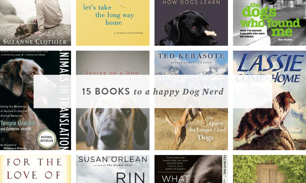 15 books to a happy dog nerd