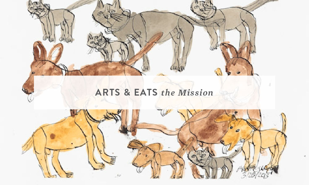 Arts & Eats: The Mission, Good Food and Art for a Great Cause