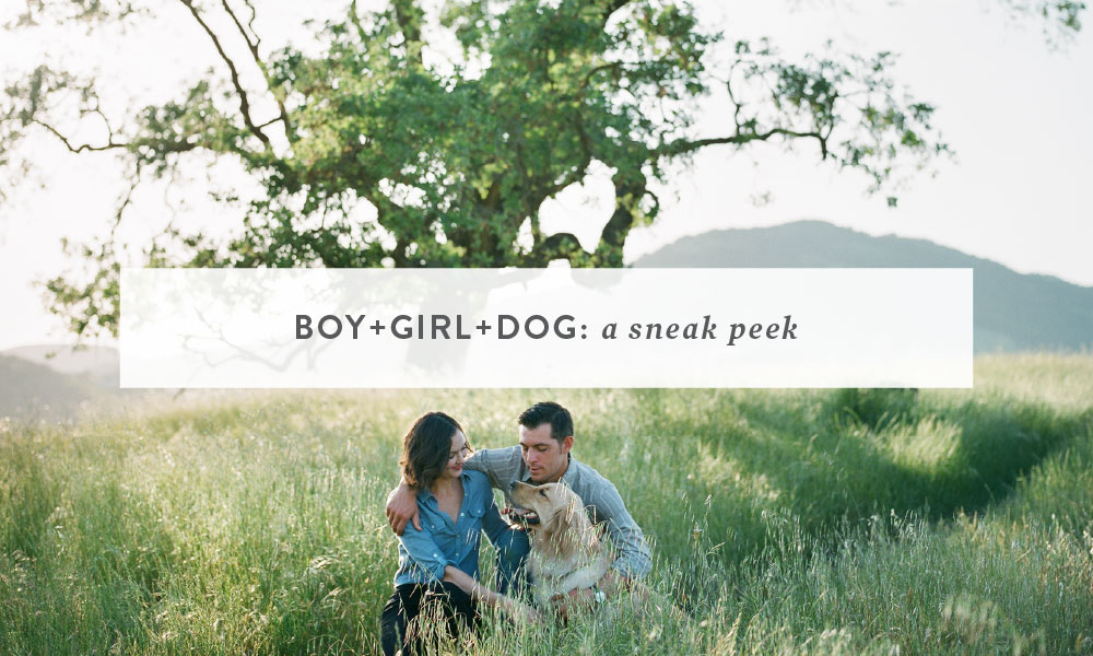 Boy + Girl + Dog ~ a Sneak Peek | Bay Area Dog Photography
