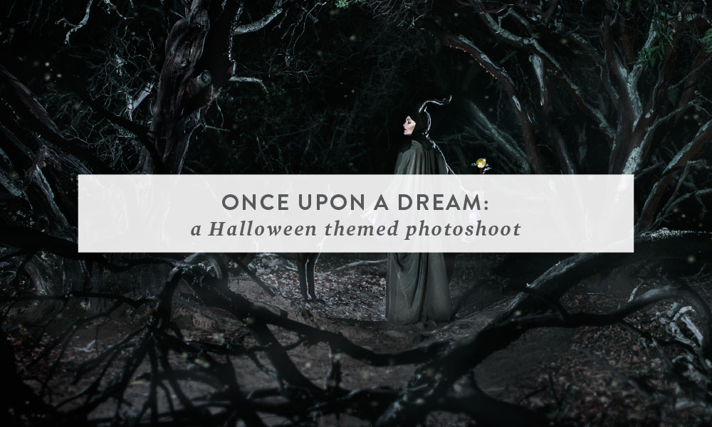 Once Upon a Dream : A Halloween Theme Photoshoot