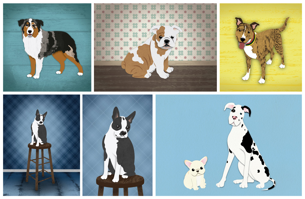 DogsIllustrated_group