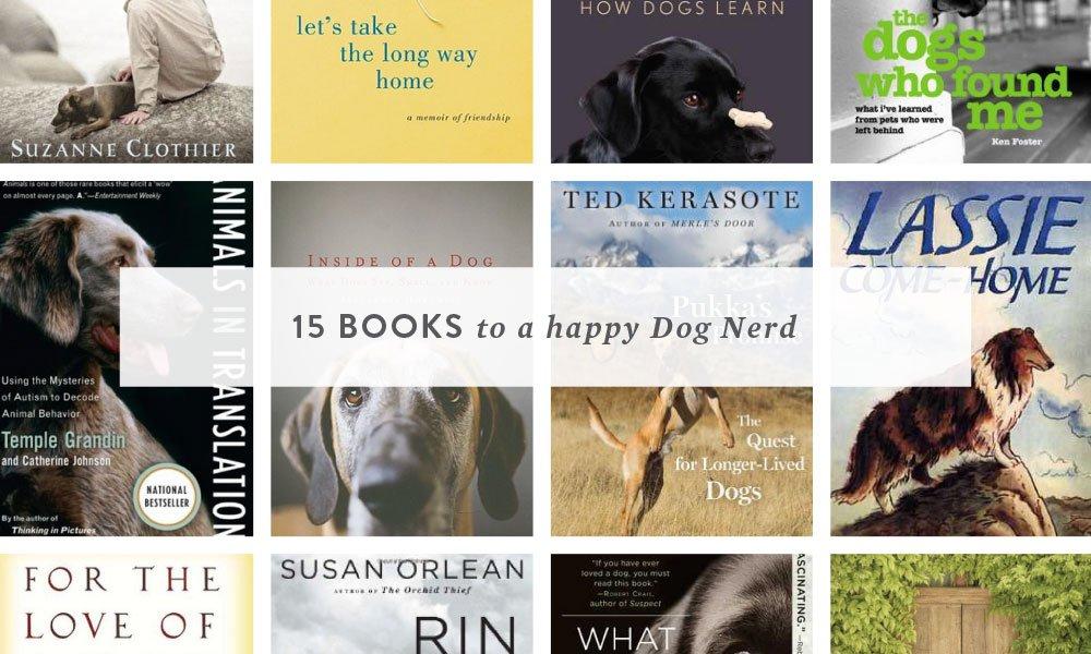 15 books to a happy dog nerd