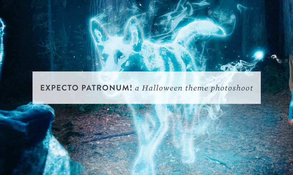 EXPECTO PATRONUM! a Halloween theme photoshoot